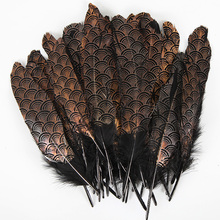 Diy-Accessories Decor Clothing Plumes Wedding-Decoration Natural 6-8-Inches NEW for Hat