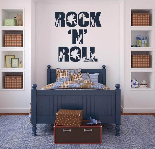 Online Shop Free Shipping Home Decor Music Rock N Roll Wall Art ...