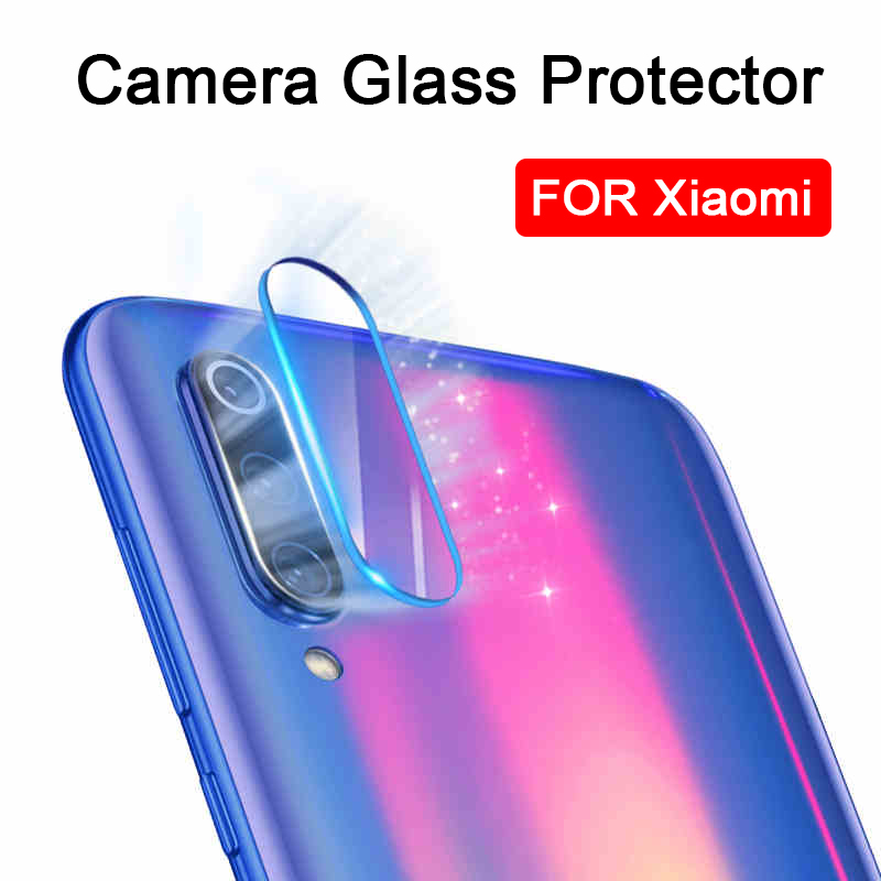 2pcs on Xiomi Mi 9 Camera Lens protector glass for Xiaomi Mi 9 8 Lite Mi8 SE Mi9 xiami Mi8se Mi9se xaomi 8se 9se tempered film(China)