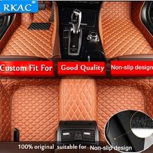 Для LHD Honda CIVIC 10th седан 2017 2016 пользовательские автомобильные коврики ковры кожа автомобиль-Стайлинг подкладке автонакладка коврики аксессуары