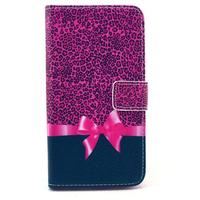 Fundas Carcasas Capinhas Leopard Print Bow Knot Phone Cover For Samsung Galaxy S6 G9200 Pink