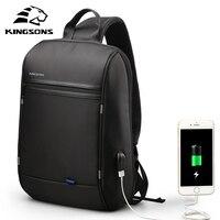 Kingsons Waterproof Small Single Shoulder Backpack Men Women Mini School Bag for Teenage Boys Girls Laptop Backpack 13/13.3 inch