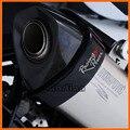 Para honda nc700 s/x 2012-2013, NC750/CTX700 2014-2015 Acessórios Da Motocicleta Protetor De Escape Oval Pode Cobrir