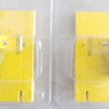 MINI placa cepilladora lateral amarilla