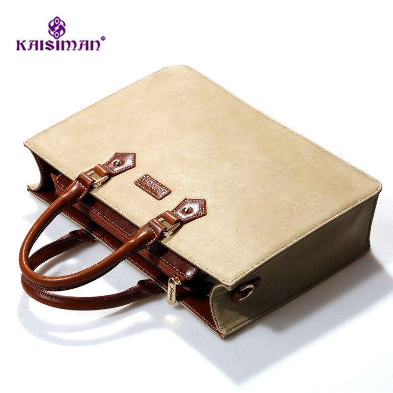 Элитный бренд Сумочка Твердые Цвет Для женщин сумки из натуральной кожи Портфели Бизнес сумки работы Сумки Commute сумка Bolsas