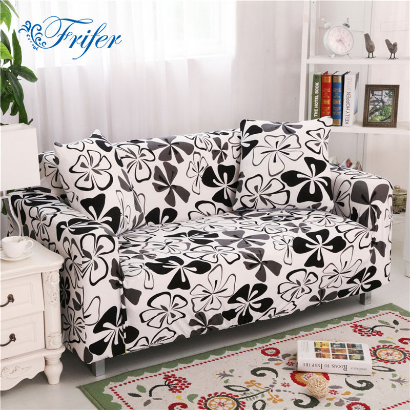 Quality Sofa Cover Big Elasticity 100% Polyester Spandex Stretch Couch Cover Loveseat Sofa Towel Furniture Cover Machine Wash
