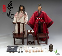 1 6 Scale Figure Doll Loyalty Chinese Song Dynasty Yue Fei And Qin Hui 12 Action