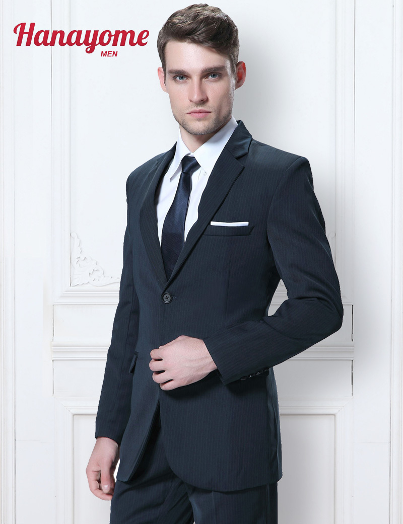 Compare Prices on Dark Navy Blue Suit for Men- Online Shopping/Buy
