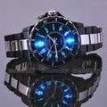 Hodinky OHSEN мужская Черный Роскошный Водонепроницаемый Спортивные Часы 7 многоцветные Светодиодные Часы Часы Relogio Esportivo OH02 Feminino