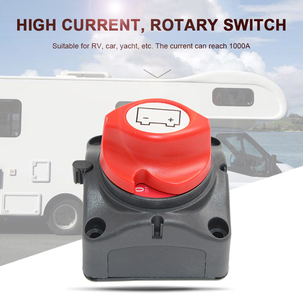 Battery Master Switch Dual System Isolator 4 Positions for Boat Marine Caravan WWO66 marine battery switch electrical dual battery isolator selector boat yacht rv