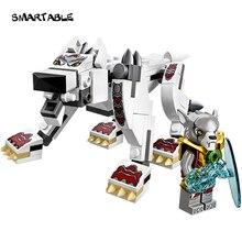 Он произвел неизгладимое 1 коробка 109 шт. Chimaed волк фигурку Building Block игрушки Совместимость Legoes Chimaed ЛЕПИН с Оригинальной Коробке LR-67