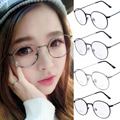 2016 New Fashion Women Alloy Glasses Frames Men Brand Metal stents Eyeglasses Gold Shield Frame With Glasses