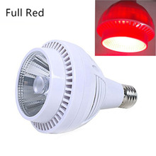 Крытый удара растет освещение 90 Вт темно-красный 660nm светодиодный Блум Booster Grow лампочки для завод бутон цветение дополнительное повышение