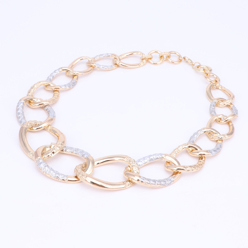 Fashion Dubai Jewelry 2017 Women Bridal Wedding Jewelry Sets High Quality Gold Color Necklace Earrings Bracelet Ring For Party