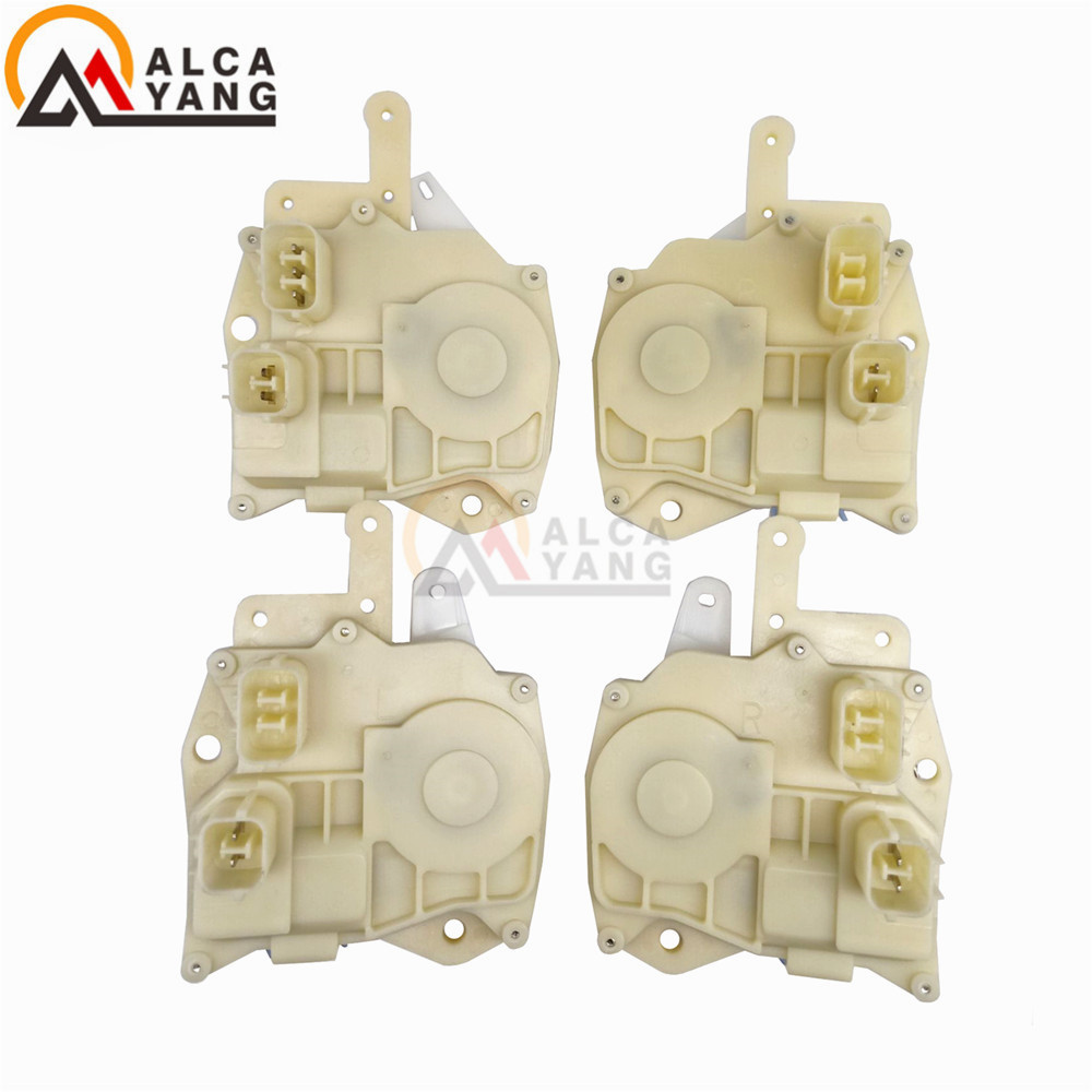 4pcs set Door Lock Actuator Front Rear Left Right Side For Honda 72115 S5A 003 72155