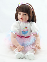 reborn doll NPK 22 inch DH111 50 cm dolls – 20 Children's toys bebe reborn