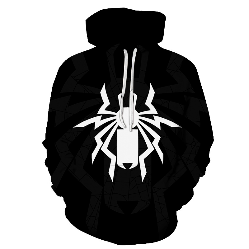 Spider man and Venom Hoodie 2019