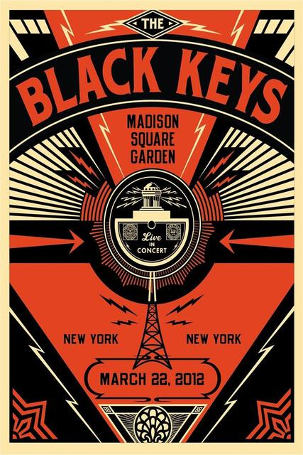 Custom canvas wall decor the black keys music band poster the black keys wall stickers office