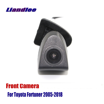 Liandlee AUTO CAM Car Front View Camera For Toyota Fortuner 2005-2018 2010 2015 2016 ( Not Reverse Rear Parking Camera )