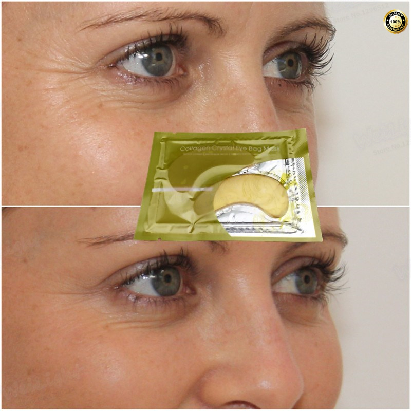 Snail Collagen Eye Mask Face Care Skin Dark Circle Eye Bags Eliminate Puffy Eyes Fine Line Wrinkles Anti Aging Products 1 Pack
