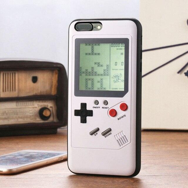 Чехлы для телефонов в стиле ретро GB Gameboy Tetris для iPhone X XS Max XR 6 6 S 7 8 Plus из мягкого ТПУ, чехол для игр Blokus huawei P20 Pro