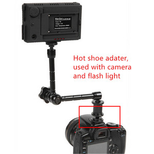 Image 2 - Jadkinsta 11 inch Adjustable Friction Articulating Magic Arm + Super Clamp + Phone Clip For Gopro DSLR Monitor LED Video Light