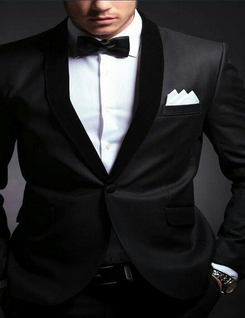 High Quality Mens Black Suit Jacket Sale-Buy Cheap Mens Black Suit ...