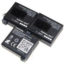 ! GoPro 3.8V 1650mAh Camera Battery Go Pro AHDBT-401 AHDBT 401 For Hero 4 Hero4