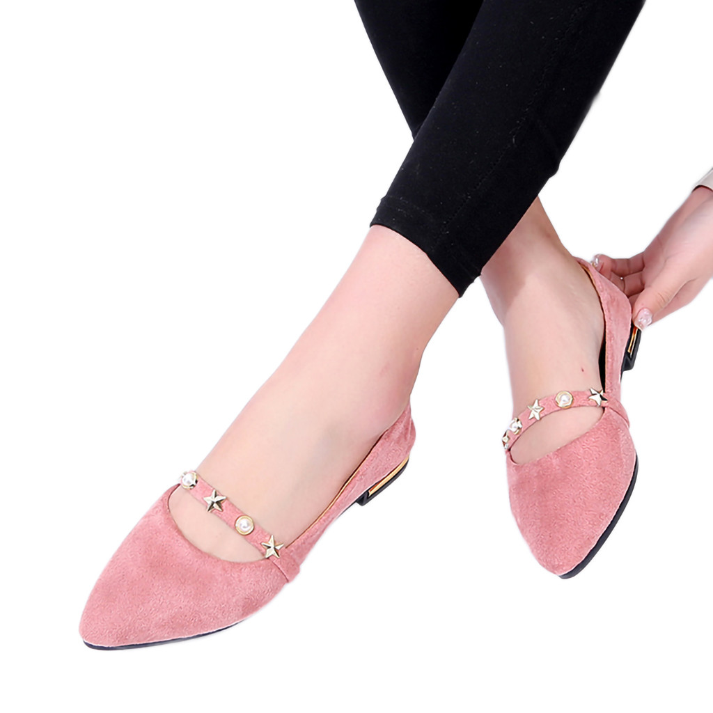 Plates Profonde Pointues Dames rose Mujer noir Bouche Simples 16 Muqgew Chaussures Femmes Casual Beige Des Zapatos Sauvage Peu 5HqExw8SE