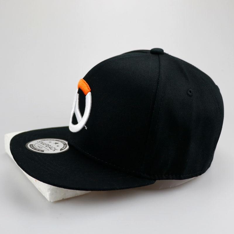 2018 New Overwatch Baseball Cap for Women Men Embroidery original hats Bone Snap back Flat Caps Bonnet Chapeu Masculino Caps
