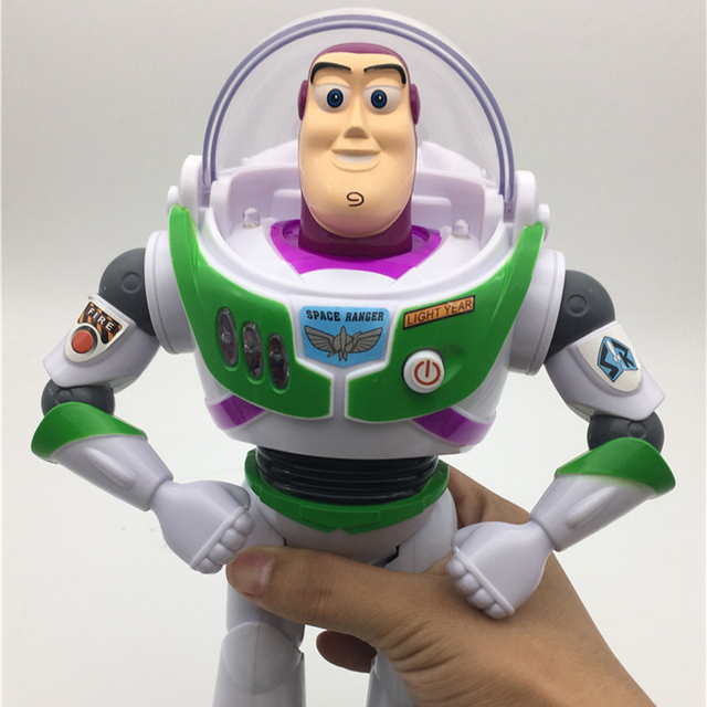 toy story 3 buzz lightyear toys light and sound pvc action figures