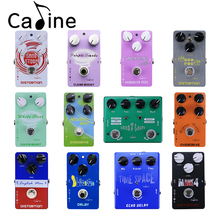 Caline Portable Electric Guitar Effect Pedal, Overdrive/Distortion/Delay/Boost Series