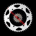 XT225 428 Motorcycle Chain Sprockets