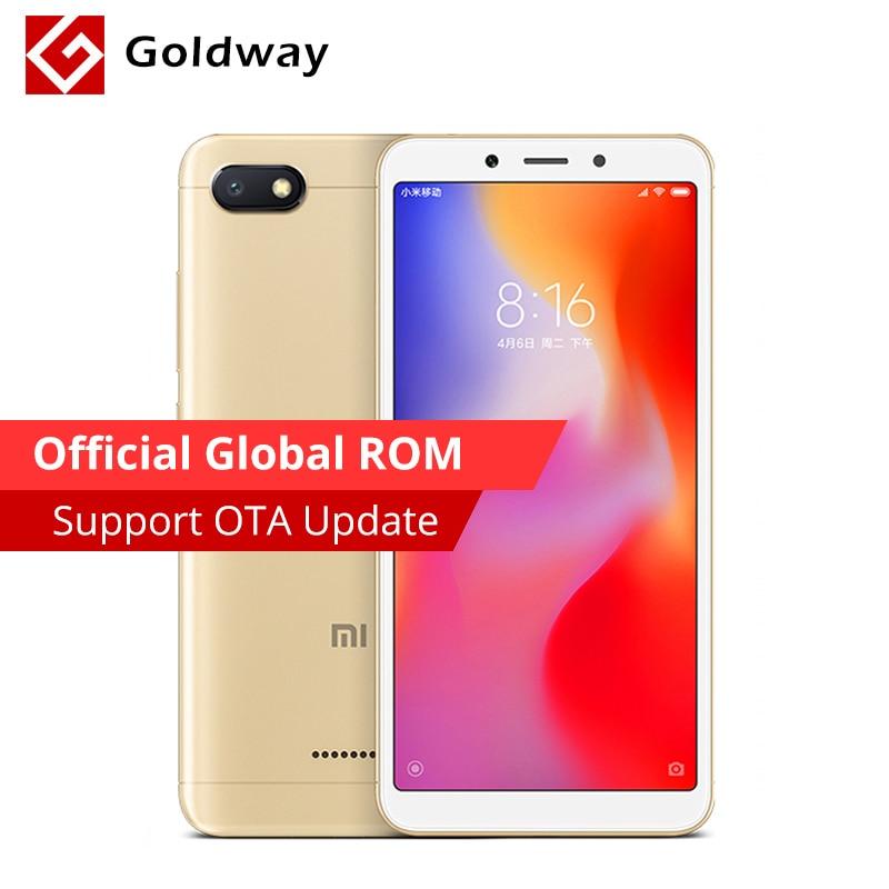 Global Rom Original Xiaomi Redmi 6a 6 A 2gb Ram 16gb Rom Smartphone 5.45'' 18:9 Full Screen Helio A22 Quad Core 13mp 3000mah
