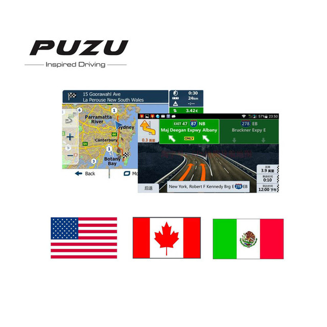 Android system 8G GPS MAP card with North America USA/Mexico/Canada on