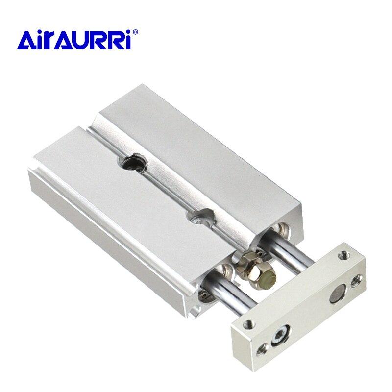 Cylinder Dual Rod Compact Type Pneumatic Air Parts SMC  CXSJM slide bearing