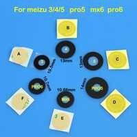 Para meizu 3 4 5 pro5 mx6 pro6 nuevo trasera Lente de Cristal de cámara posterior cubierta piezas de reparación