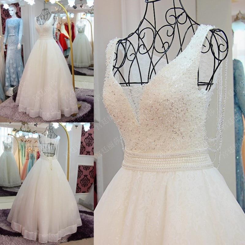 Sparkling   Evening     Dresses   Robe De Soiree Beaded   Evening     Dress   Vestido De Festa Crystals Long Formal Gowns V Neck Elegant