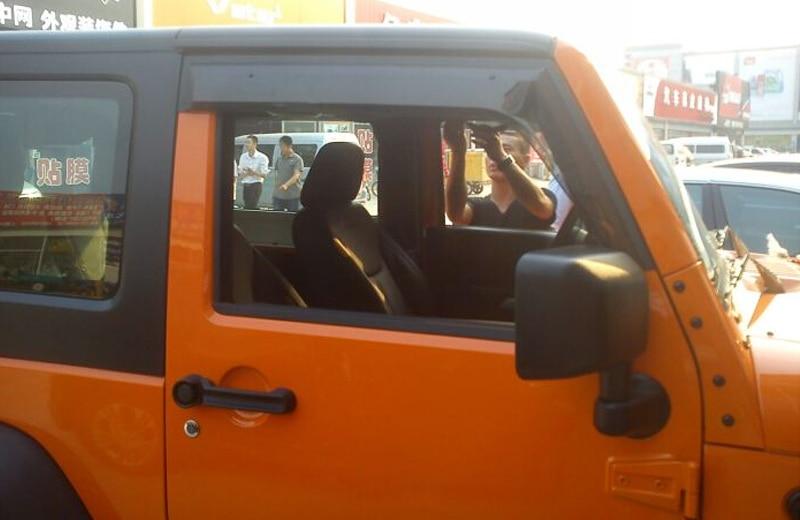 2015 Jeep Wrangler Accessories >> Window Visor Vent Shade Rain/Sun/Wind Guard for Jeep Wrangler 2 door 2007 2008 2009 2010 2011 ...
