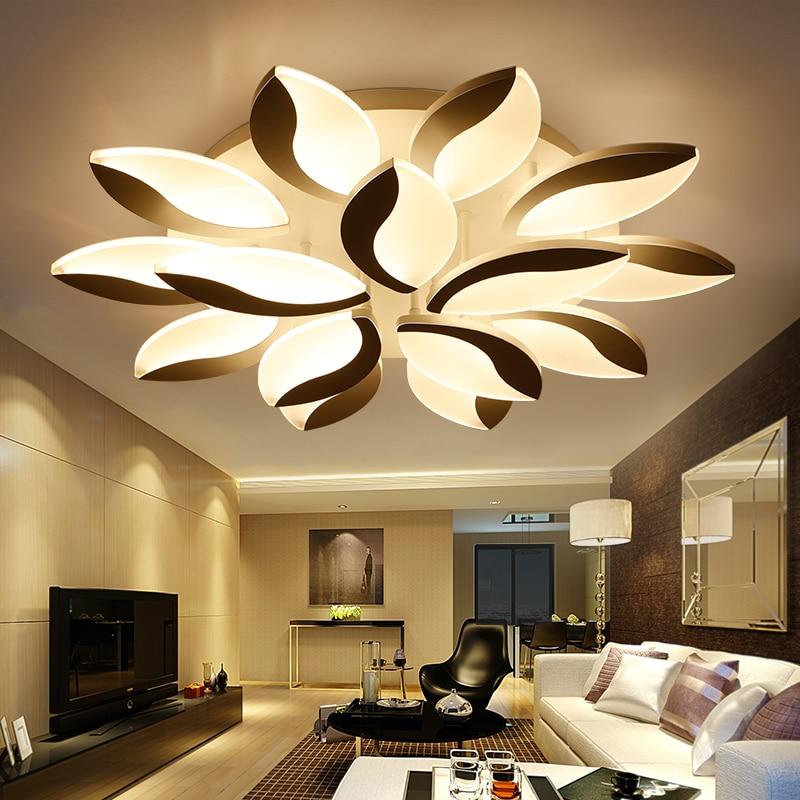 LED living room ceiling lamps simple modern Novelty ceiling lights creative bedroom fixtures restaurant ceiling lighting