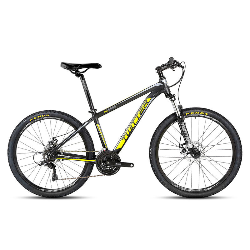 TWITTER 26 inch 21 Speed Mountain Bike Double Disc Brakes MTB Bike Student Bicycle