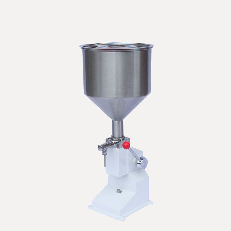 Food Filling Machine Manual Hand Pressure Stainless Paste Dispensing Liquid Packaging Equipment Sold Cream Machine 5~ 50ml fast food leisure fast food equipment stainless steel gas fryer 3l spanish churro maker machine