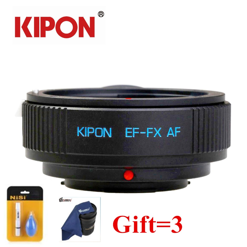 New KIPON EF FX AF Auto Focus Adapter for Canon EOS EF Lens to Fuji FX