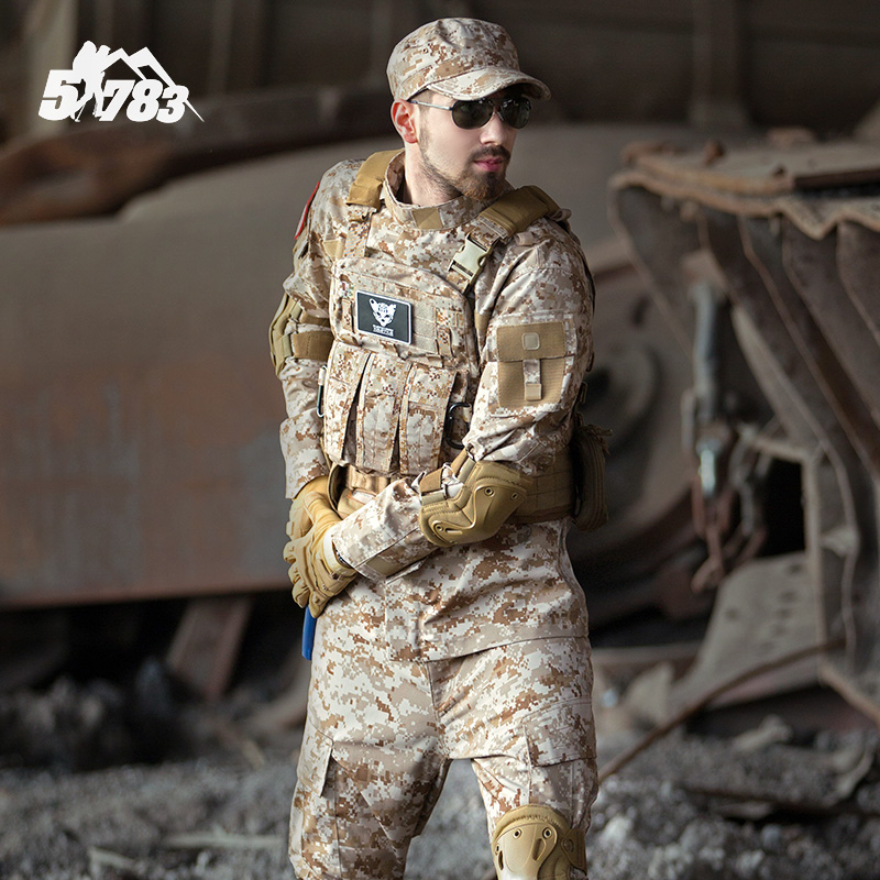 New Outdoor US Military Desert Digital Sets Plus Size Military Uniforms Tactical Suit Top Quality Outdoor Hunting Equipment