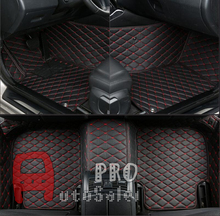 For Mercedes Benz GLA X156 2015 — 2016 Right & Left Hand Drive Black Front Rear Floor Mat Carpets Pad cover