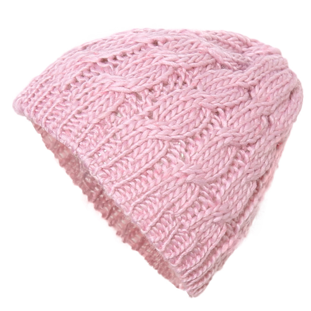 Hot 2016 New Women Ladies Cable Knitted Winter Hats bonnet femme Cotton Slouch Baggy Cap Crochet Beanie gorros Hat for women Z1 winter women beanie curl all match crochet knitted hiphop hats warm ski hat baggy cap femme en laine homme gorros de lana 62