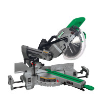 Wood Saw 10 Sliding Compound Miter 254mm 1800w Electric Circular With Laser Cutting Line