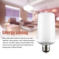 ICOCO Holiday Party Decor 3 Modes 4W LED Bulb E27 Amazing Night Flame Effect Light Simulation