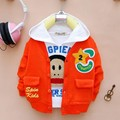 (1piece /lot) 100% cotton 2016 NEW start boy sport baby outerwear