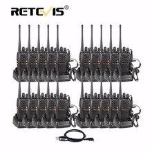 20 pcs Retevis H777 Portable Talkie Walkie 3 W UHF 400-470 MHz De Poche Hf Émetteur-Récepteur Radio Bidirectionnelle communicateur Ham Radio Station